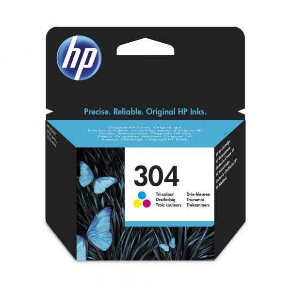 zaopatrzenie dla biura 7 alibiuro.pl Tusz HP N9K05AE orygina HP304 HP 304 kolor 33