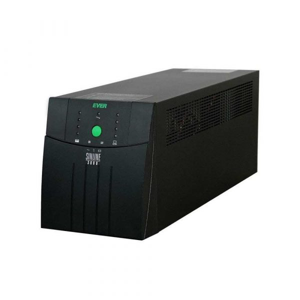 zaopatrzenie dla biura 7 alibiuro.pl Zasilacz awaryjny UPS Ever UPS EVER SINLINE 1200 USB HID W SL00TO 001K20 07 TWR 1200VA 51