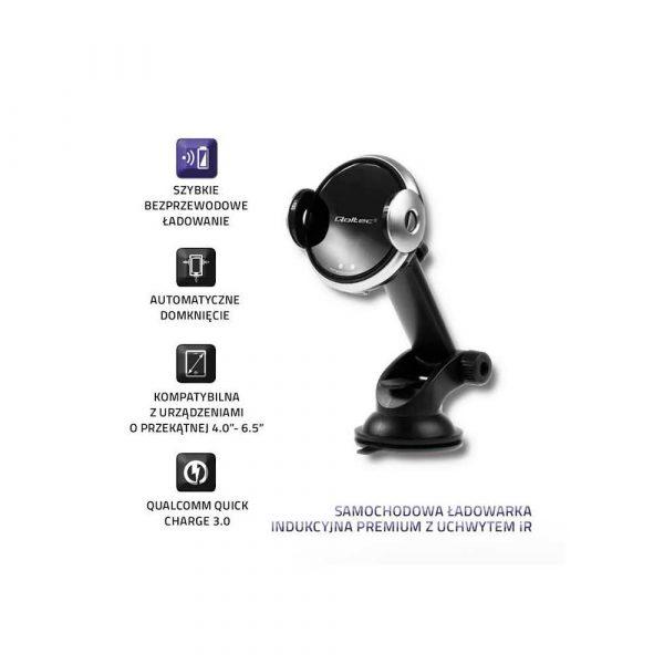 zaopatrzenie dla biura 7 alibiuro.pl adowarka samochodowa do smartfona Qoltec 51216 1000 mA 1200 mA 1670 mA USB 2.0 USB typ C 64