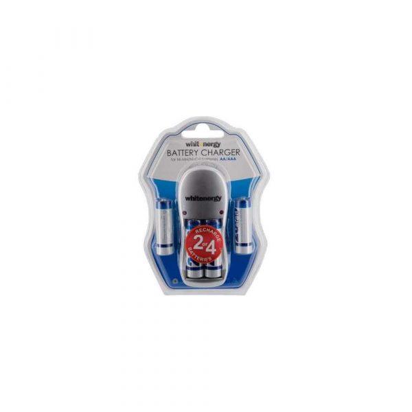 zasilanie 7 alibiuro.pl Zestaw akumulatorw z adowark Whitenergy 08353 60
