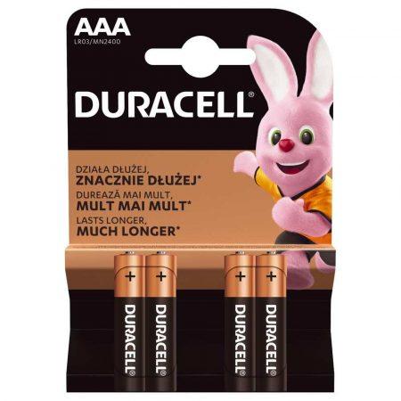 zasilanie 7 alibiuro.pl Zestaw baterii AAA Duracell x 4 77