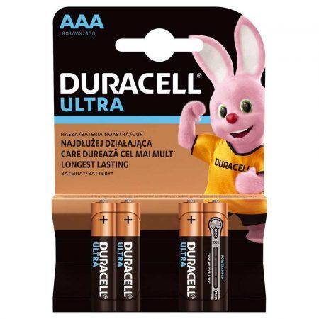zasilanie 7 alibiuro.pl Zestaw baterii alkaliczne Duracell Ultra Power AAA LR03 Alkaliczny manganowy x 4 70
