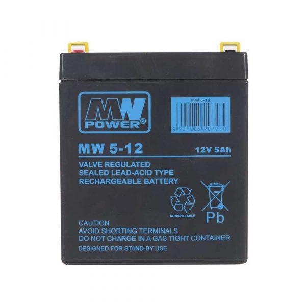zasilanie awaryjne 7 alibiuro.pl Akumulator do kamer przemysowych MPL POWER ELEKTRO MW 5 12 48