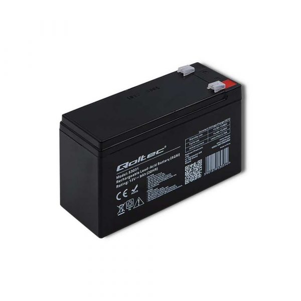 zasilanie awaryjne 7 alibiuro.pl Akumulator elowy Qoltec 53031 37