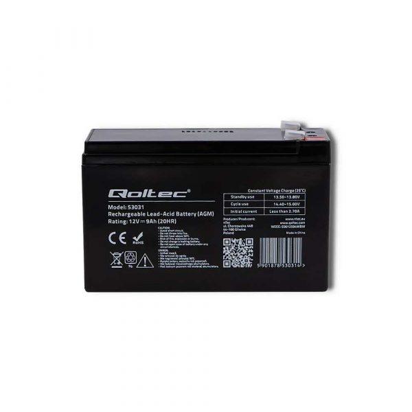 zasilanie awaryjne 7 alibiuro.pl Akumulator elowy Qoltec 53031 73