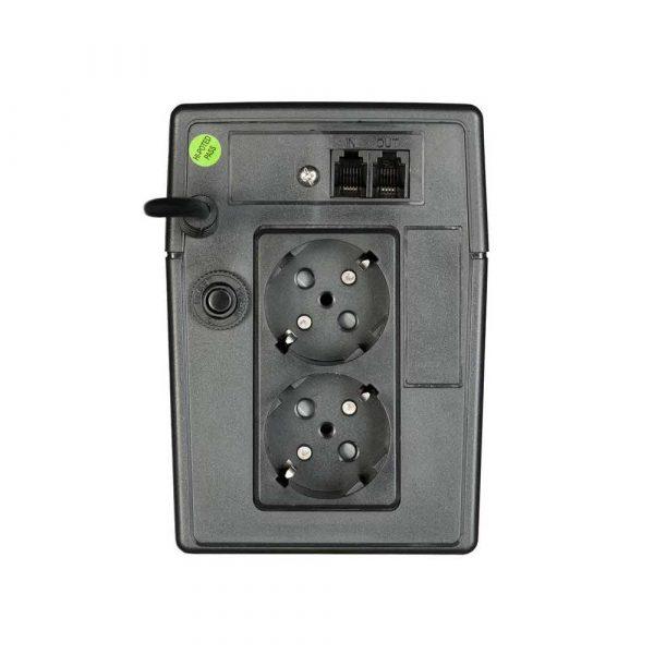zasilanie awaryjne 7 alibiuro.pl Zasilacz UPS Activejet AJE 626VA LED TWR 625VA 36