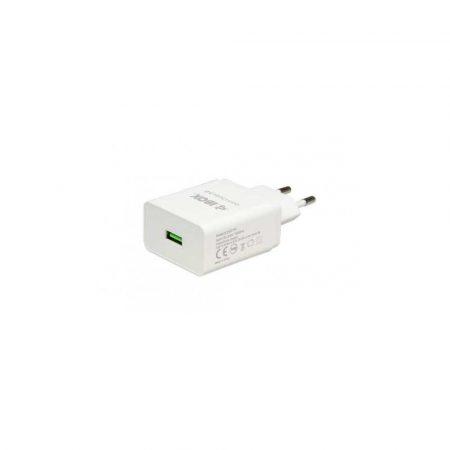 zasilanie do telefonów 7 alibiuro.pl adowarka sieciowa IBOX QC 1 QUICK CHARGE ILUQC1W USB kolor biay 95