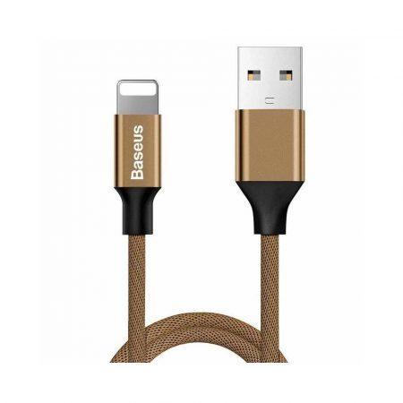 złącza usb 7 alibiuro.pl Kabel Baseus Yiven CALYW 12 USB 2.0 Lightning 1 2m kolor brzowy 87