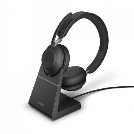 głośnik do komputera 1 alibiuro.pl 26599 999 989 Słuchawki Jabra Evolve2 65 Link380a USB A MS Stereo Black Stacja 10