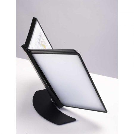 biurkowy system prezentacyjny black edition z 10 panelami easy load tarifold alibiuro.pl 15