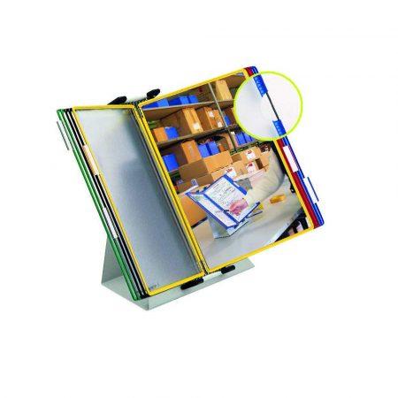 biurkowy system prezentacyjny tarifold a4 +10 paneli prezentacyjnych mix kolorów alibiuro.pl 12