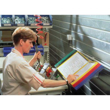 biurkowy system prezentacyjny tarifold a4 +30 paneli prezentacyjnych mix kolorów alibiuro.pl 12