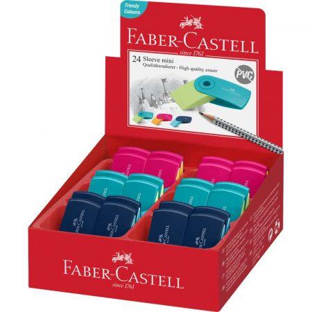 gumka sleeve mini kolory trend faber castell alibiuro.pl 3