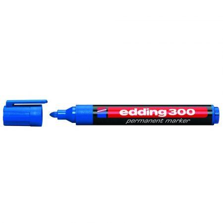 marker edding permanentny okrągła końcówka 15 3mm niebieski alibiuro.pl 70