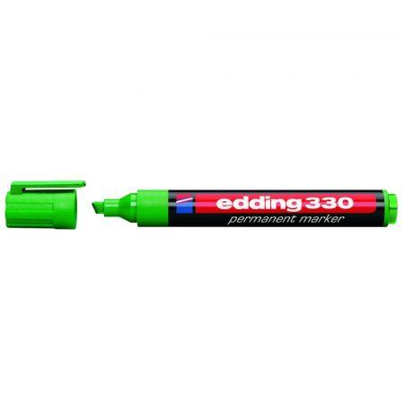 marker edding permanentny ścięta końcówka 1 5mm zielony alibiuro.pl 53
