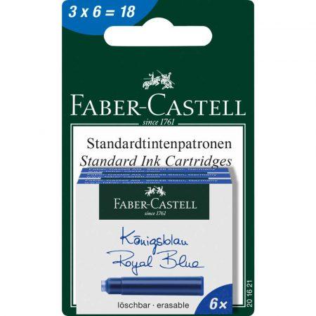 naboje atramentowe krótkie niebieskie 3x kartonik 6 sztfaber castell alibiuro.pl 58