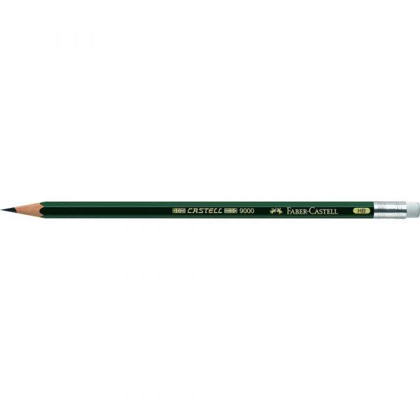 ołówek castell 9000 hb z gumką faber castell alibiuro.pl 56