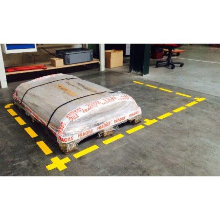 samoprzylepne litery inch t inch tarifold 150x50mm wodoodporne x 10szt żółte alibiuro.pl 78