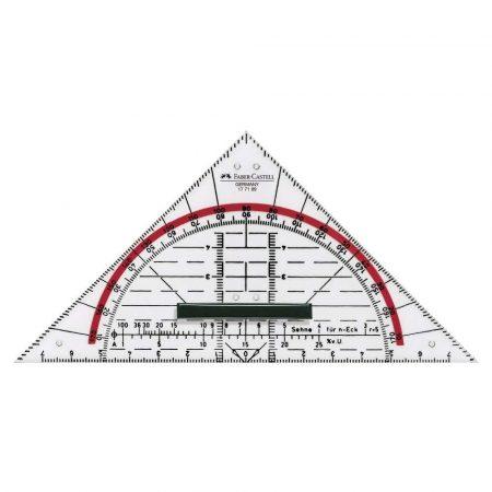 trójkąt geometryczny blister faber castell alibiuro.pl 47