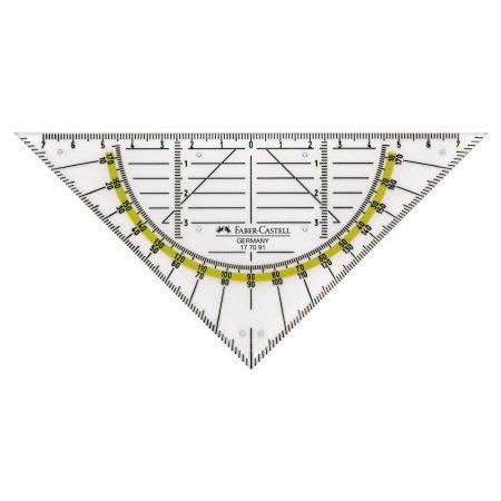 trójkąt geometryczny mały faber castell alibiuro.pl 5
