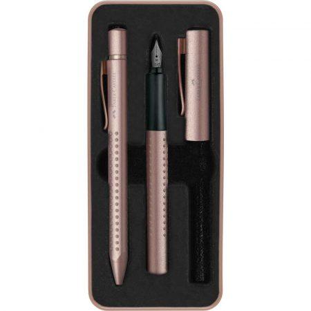 zestaw prezentowy grip 2011 edycja limitowana pióro długopis złoty rose copper opmetalowe faber castell alibiuro.pl 93