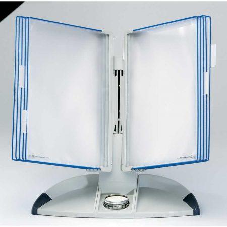 biurkowy system prezentacyjny tarifold a4 +10 paneli prezentacyjnych niebieskich alibiuro.pl 26