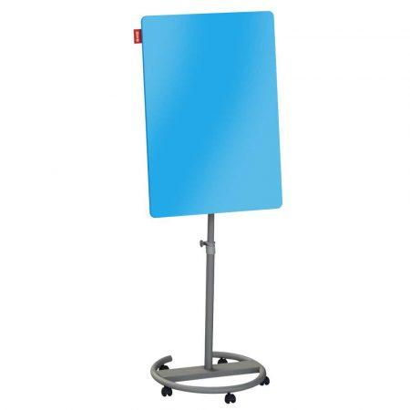 flipchart mobilny memobe szklany niebieski suchościeralny magnetyczny circle 70x100xh220 cm alibiuro.pl 57