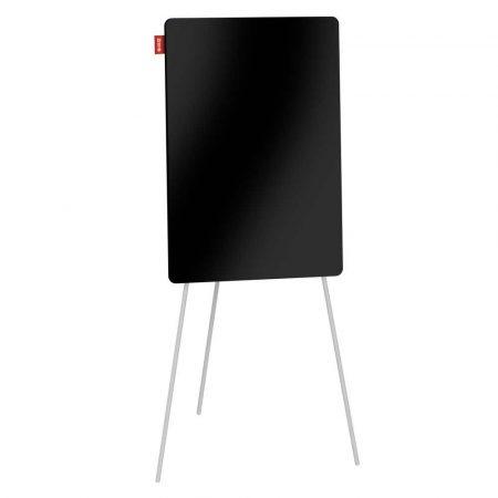 flipchart na trójnogu memobe szklany czarny suchościeralny magnetyczny 70x100xh180 cm alibiuro.pl 88