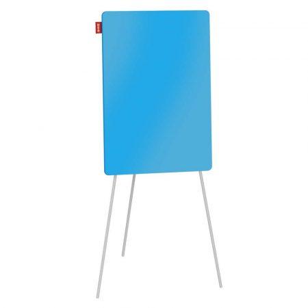 flipchart na trójnogu memobe szklany niebieski suchościeralny magnetyczny 70x100xh180 cm alibiuro.pl 26