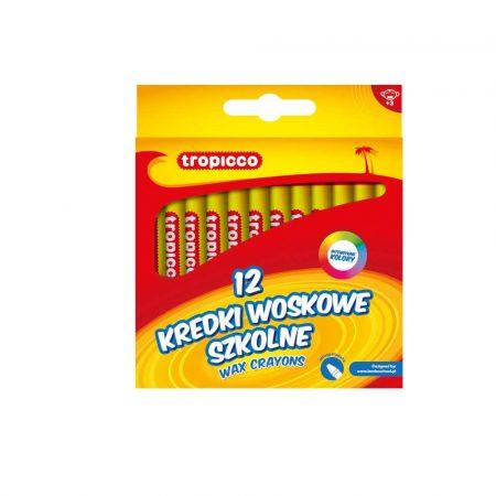 kredki tropicco woskowe 12 kol. alibiuro.pl 25