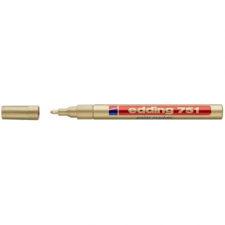 marker edding lakierowy okrągła końcówka 1 2mm złoty alibiuro.pl 87