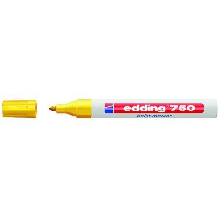 marker edding lakierowy okrągła końcówka 2 4mm żółty alibiuro.pl 79