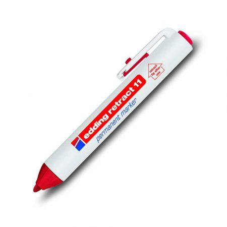 marker edding permanentny automatyczny okrągła końcówka 15 3mm czerwony alibiuro.pl 25