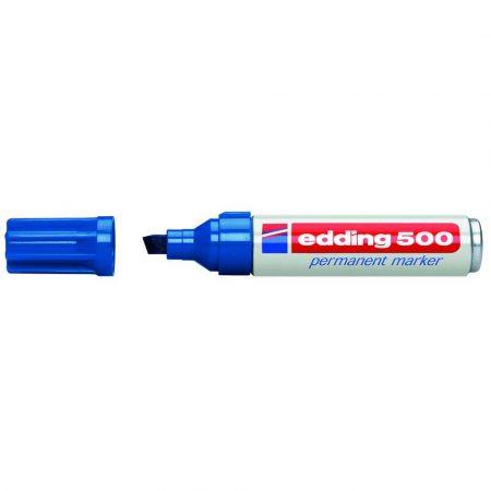 marker edding permanentny ścięta końcówka 2 7mm niebieski alibiuro.pl 76
