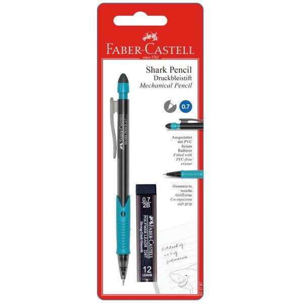 ołówek automatyczny shark 07mm +wkłady blister faber castell alibiuro.pl 94