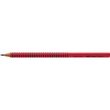 ołówek grip 2001 b czerwony faber castell alibiuro.pl 34