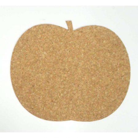 podkładka korkowa pod kubek jabłko 95x112x3mm 6 szt. alibiuro.pl 61