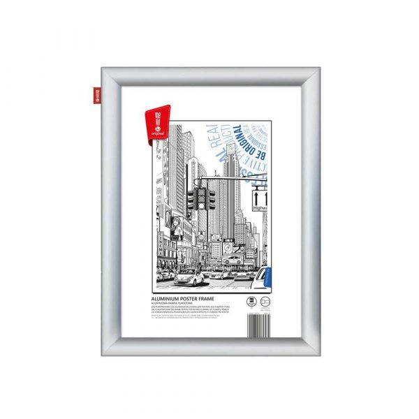ramka plakatowa memobe aluminiowa a3 42x297 cm alibiuro.pl 76