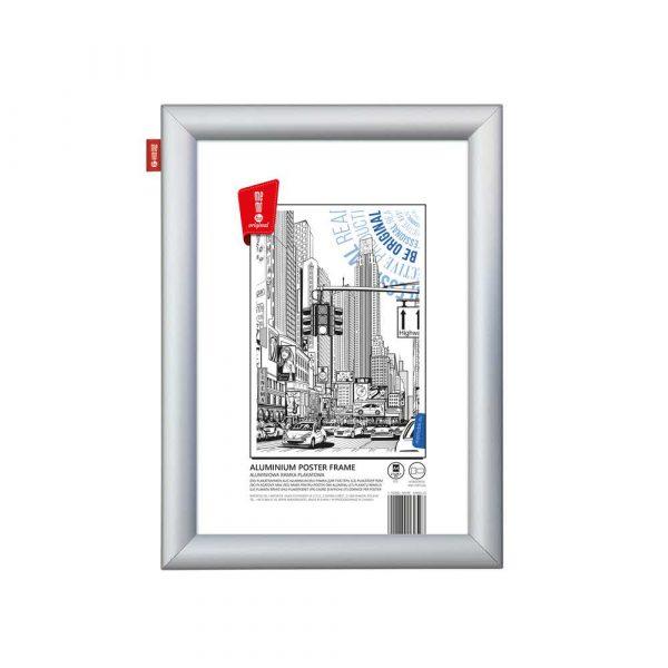 ramka plakatowa memobe aluminiowa a4 21x297 cm alibiuro.pl 89