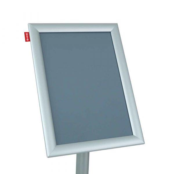 stojak na ulotki memobe metalowy z ramką aluminiowąa4 21x297 cm h 100 cm alibiuro.pl 59