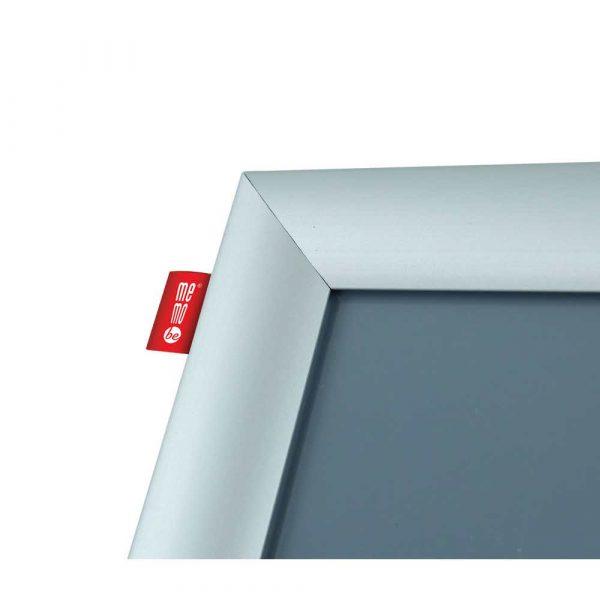 stojak na ulotki memobe metalowy z ramką aluminiowąa4 21x297 cm h 100 cm alibiuro.pl 92