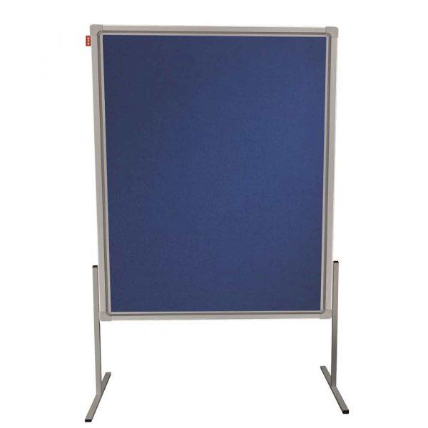 tablica moderacyjna memobe dwustronnie filcowa niebieska rama aluminiowa prestige 120x150 cm alibiuro.pl 49