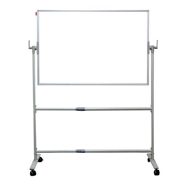 tablica obrotowa memobe dwustronnie suchościerana magnetyczna biała rama aluminiowa prestige 120x90 cm alibiuro.pl 91