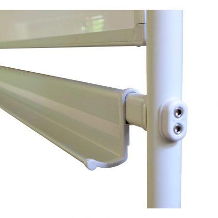 tablica obrotowo jezdna memobe dwustronnie suchościeralna magnetyczna biała standard 150x100xh185 cm alibiuro.pl 27