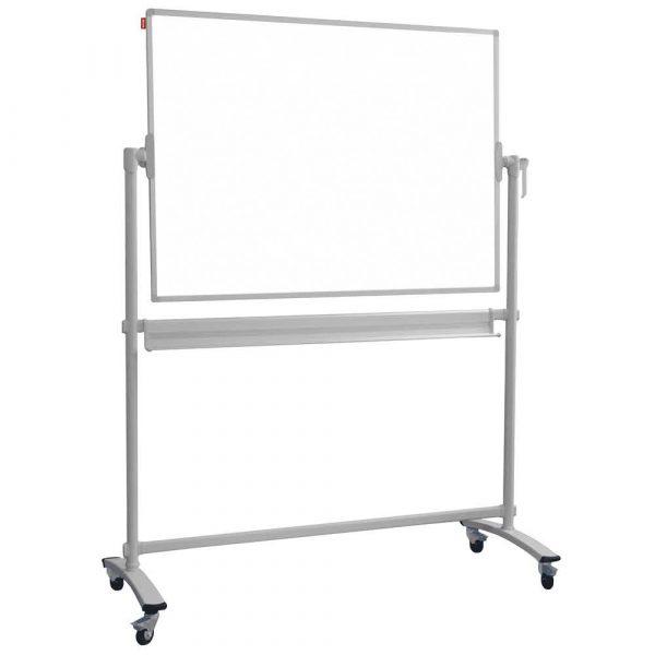 tablica obrotowo jezdna memobe dwustronnie suchościeralna magnetyczna biała standard 150x100xh185 cm alibiuro.pl 9