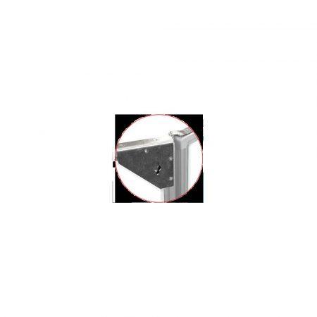 tablica tryptyk 120x90cm magnetyczna biała w ramie aluminiowej z półką alibiuro.pl 5